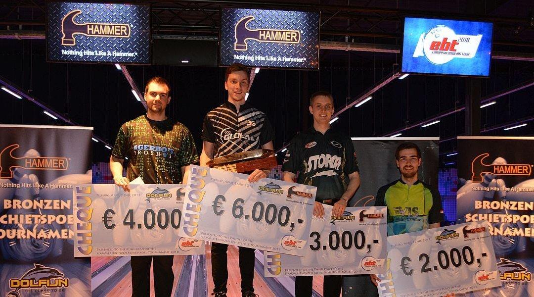 Gaëtan Mouveroux no Francijas uzvar savu pirmo EBT titulu