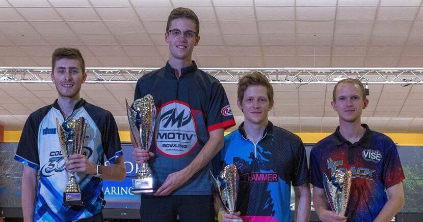Pontus Andersson no Zviedrijas uzvar 14th Storm San Marino Open