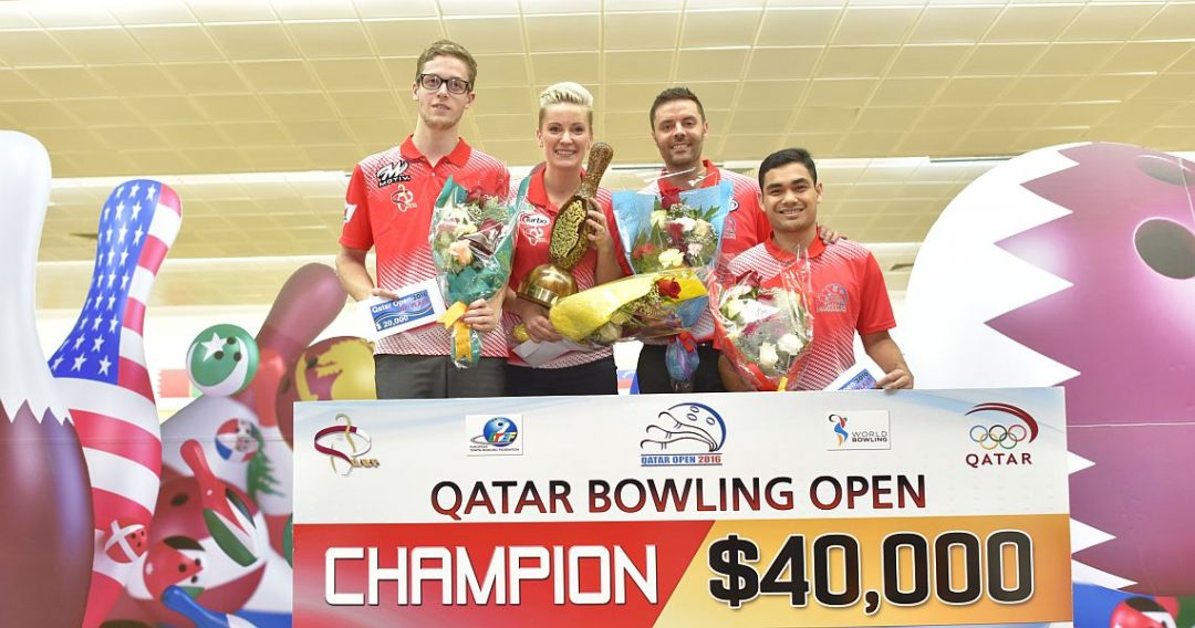 Qatar Bowling Open 2016 results