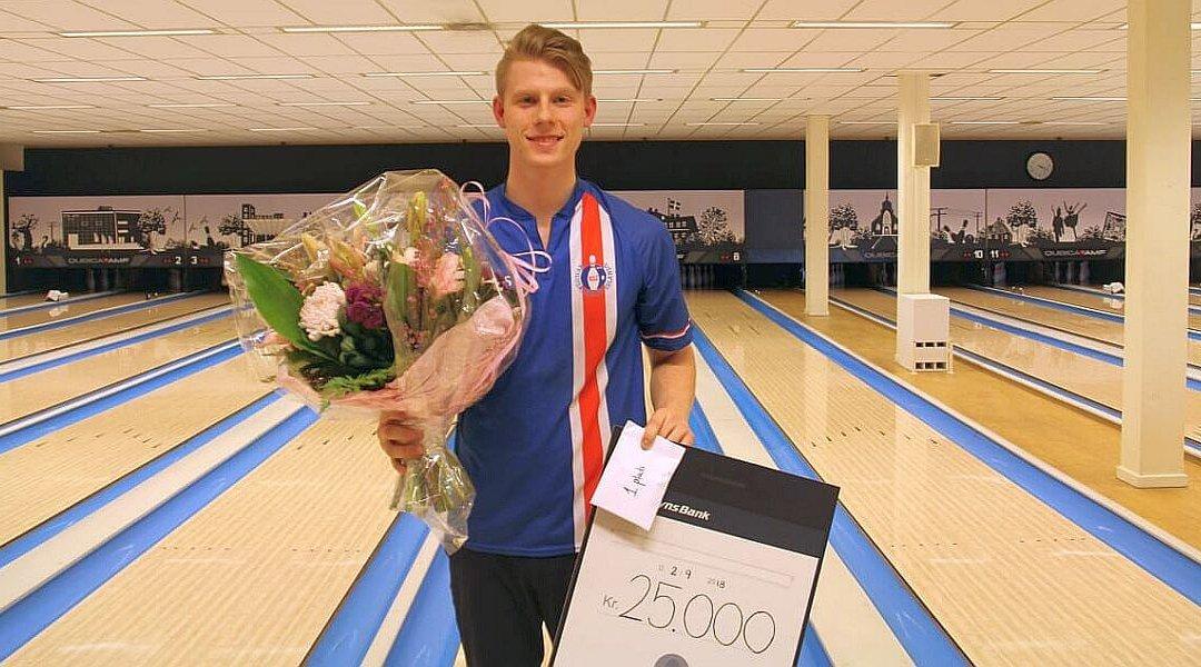 Arnar Davið Jónsson no Islandes uzvar savu pirmo EBT titulu