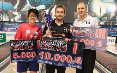 Joonas Jehkinen no Somijas uzvar Brunswick Ballmaster Open 2019