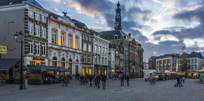 Hertogenbosa - pilsētas centrs