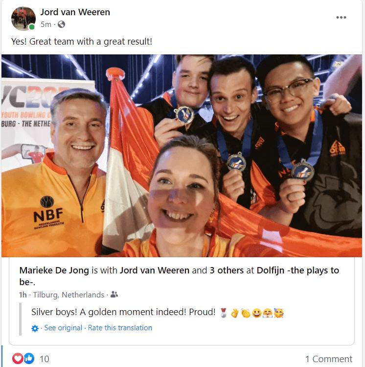 Netherlands facebook