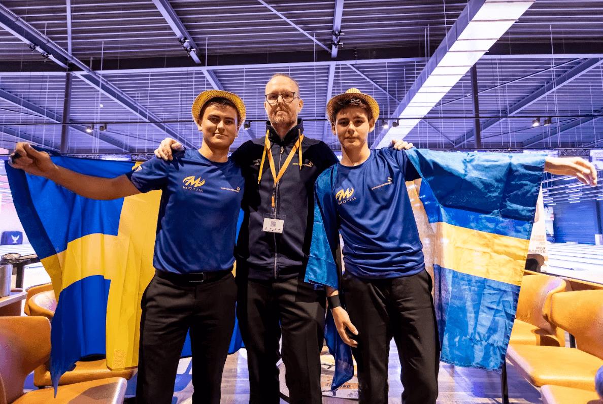 EYC 2021 Sweden bowling team