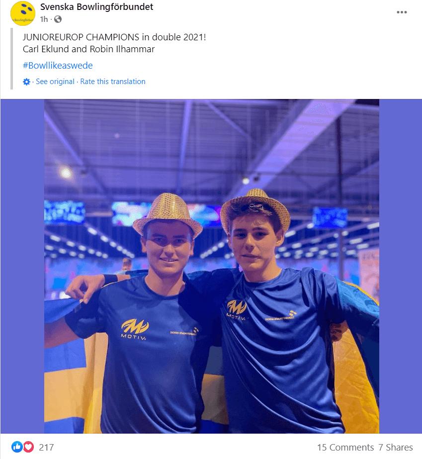 Sweden facebook